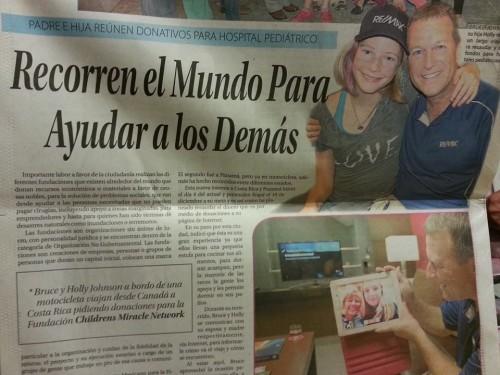 Tampico Newspaper